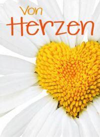 Minikarten Von Herzen Pictural mit Klammer 9006