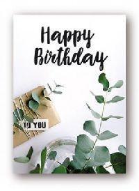Minikarten Happy Birthday Urban Jungle 9420
