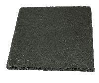 Schieferplatten ANTHRAZIT  Schieferuntersetzer 20x20cm 80660 inkl.4 Gummifüße