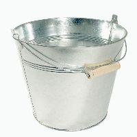 Eimer, Metall ZINK 35-140 Ø26cm H21cm  7 Liter