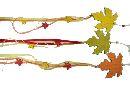 Dekohänger Herbstblatt HERBSTFARBEN 35193 L=87cm 15x13x0,2cm Holz
