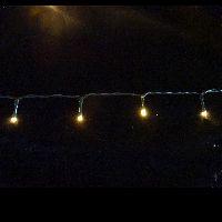 LED Lichterkette mit Timer warmweiss 1440cm 1034291 192LED batterieb. In-&Outdoor