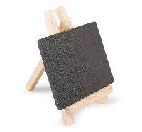 Staffelei mit Tafel SCHWARZ-NATUR 7425168 Holz 7,5x8cm (LxH)   Tafel=7,5x5cm