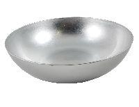 Schale Kunststoff SILBER 91270 Ø37cm H10,5cm