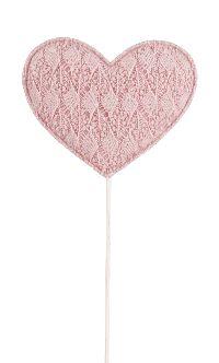 Spitze Herz Sweetheart ALTROSA  20761343 Stecker 7,5cm GL:27,5cm