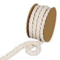 Baumwollkordel CREMEWEISS 24400 70 Ø10mm L= 4Meter 100% Baumwolle